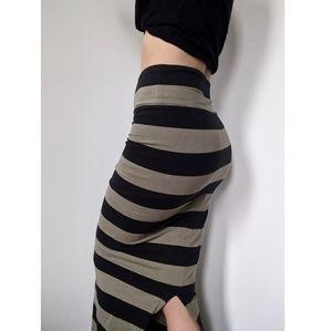 Free People Stretch High Waist Maxi Skirt